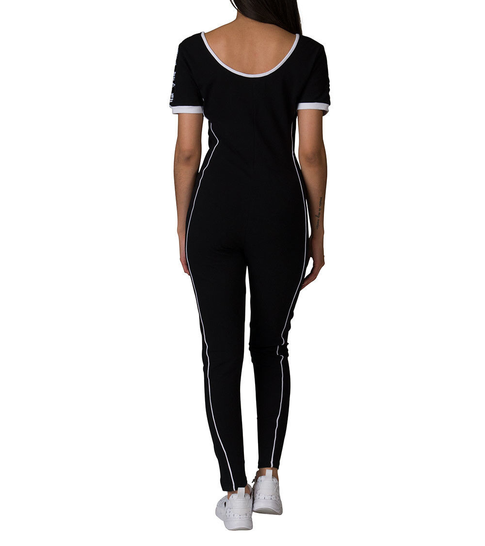 c816facd19f Женская одежда NEW Fila High Neck Unitard Legging Jumpsuit With Front Zip  LW171XS9 GINA UNITARD