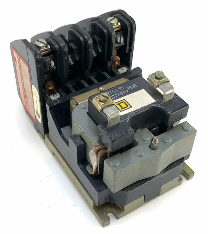 Square D 8903LO20 Lighting Contactor w/277 Vac Coil