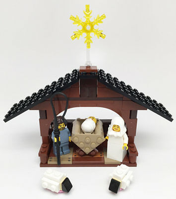 Constructibles Nativity Build   Lego  Parts   Instructions Kit