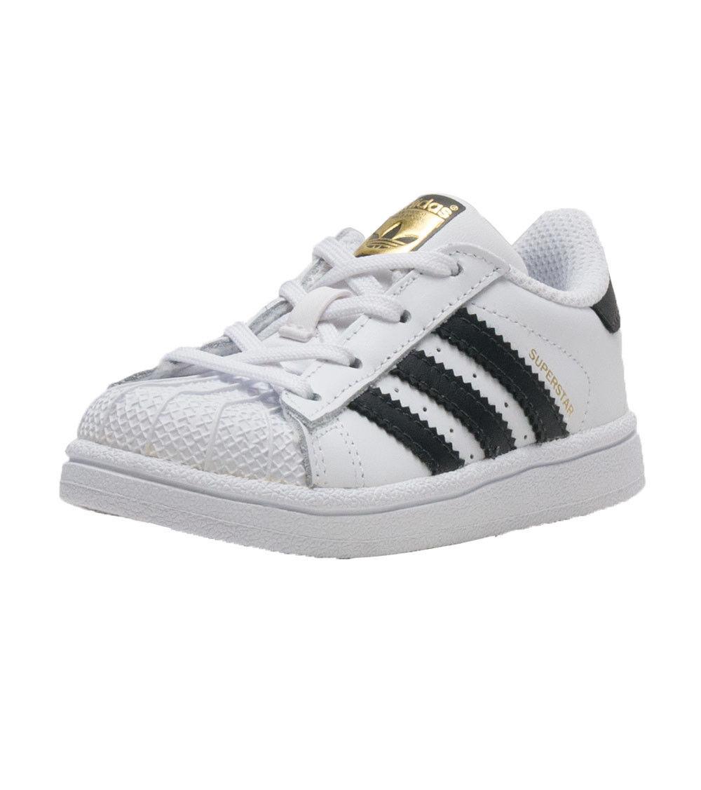 Adidas Originals Superstar Toddler BB9076 White/Black/White