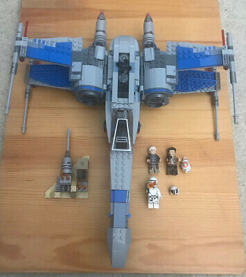 LEGO 75149 Star Wars Resistance X-Wing Fighter - 100% Complete