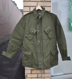 Canadian-Forces-Mark-II-OG107-GS-3-Season-Combat-Jacket-Coat-7042-Medium-Regular