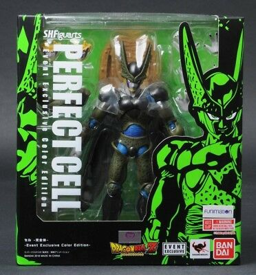 2018 SDCC Perfect Cell Bluefin Tamashi SH Figuarts Dragon Ball Z Bandai
