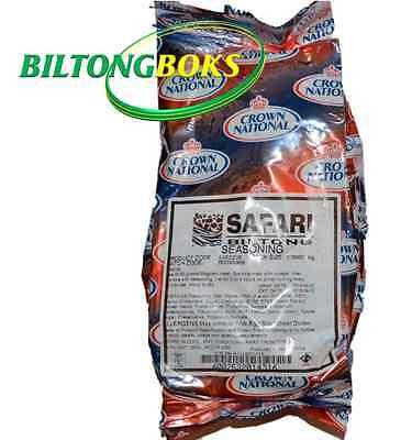 Biltong Spice - Crown National Safari Biltong Seasoning 1 kg