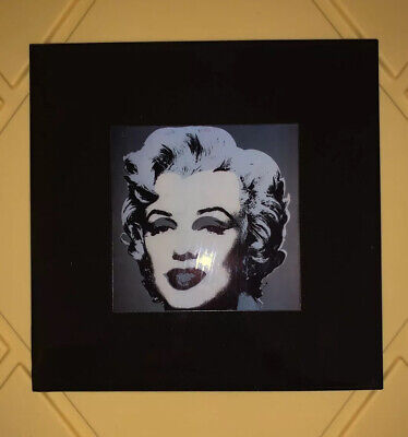 Grander Images Marilyn Monroe By Andy Warhol 1967 Ceramic Art Tile USA Made 8x8