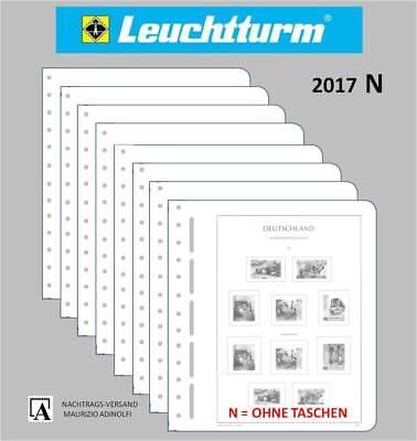NEU Leuchtturm Nachtrag N 2017 Deutschland Bund BRD ohne Taschen 23A