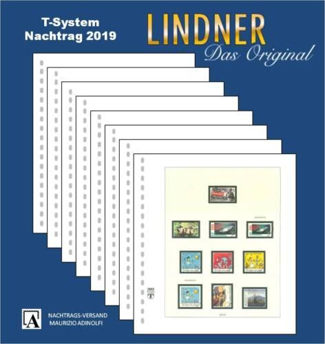 Lindner Nachtrag 2019 Deutschland (T120b)  Bundesrepublik Bund BRD Seite 383-391