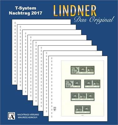 Lindner Nachtrag 2017 Deutschland Zusammendrucke (T120b/Z) BRD bZ