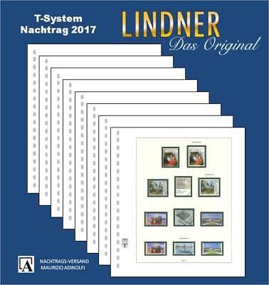 Lindner Nachtrag 2017 Deutschland (T120b)  Bundesrepublik Bund BRD Seite 365-373
