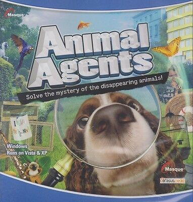 Animal Agents Pc Games Windows 10 8 7 Xp Computer Seek   Find Hidden Object New