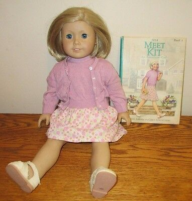 "Pleasant Company American Girl 18"" Doll KIT w/ Book"