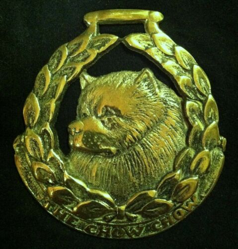 Oversized THE CHOW CHOW Harness Brass by JEE CHOW CHOW Lover! WOW YOUR WALLS!
