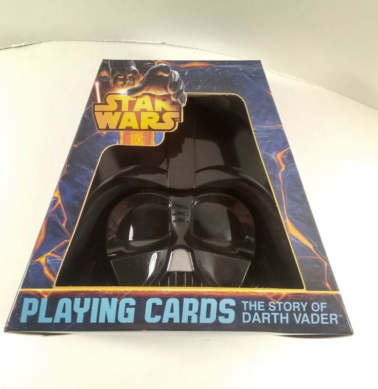Star Wars Playing Cards, The Story of Darth Vader. Poker 52 Deck Jedi Sith. NIB