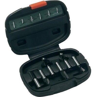 Bosch HM Fräser Set 6 tlg. für Öberfräse 8 mm Schaft Nutfräser fräsen 2607019463