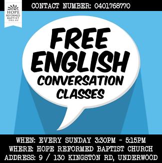 Free English Conversation Class