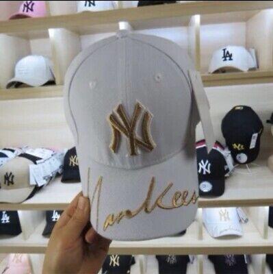 Man Ny Embroidery Yankee Baseball Cap Sport Sun Hat Black