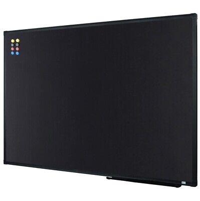 New Lockways Magnetic Chalkboard Black Board 36 X 24 Inch
