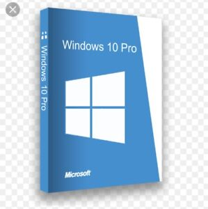 Microsoft Windows 10 Pro  32/64 BITS LICENSE KEY 1 PC