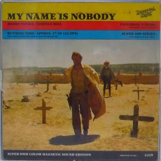 My Name Is Nobody  - Terrence Hill -  super 8mm color sound movie Sydney City Inner Sydney Preview