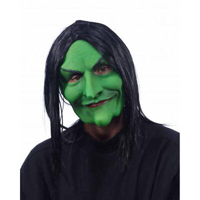 Mercedes the Witch Supersoft UV Black Light Reactive Adult Latex Halloween Mask - Uv Halloween Mask