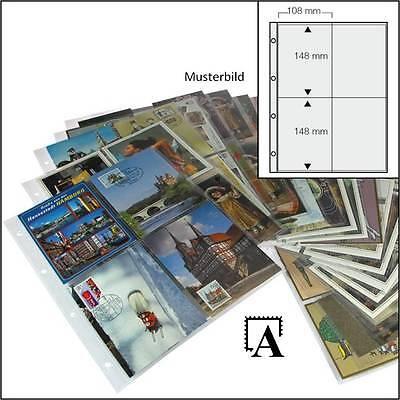 Folienblätter für Bierdeckel oder A6 Postkarten Ansichtskarten Autogrammkarten
