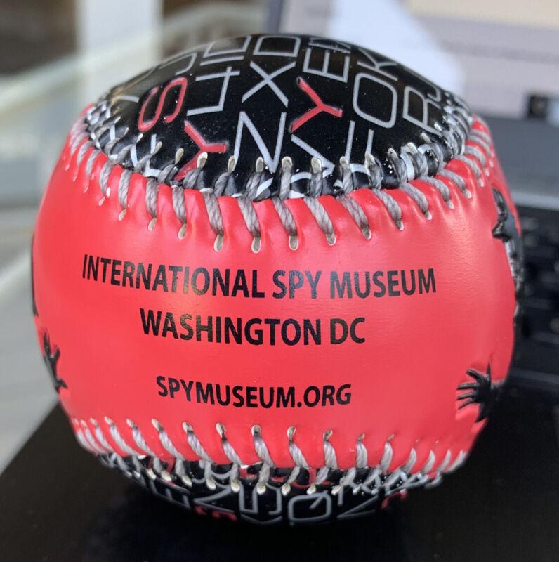 International Spy Museum Washington DC Promotional Souvenir baseball Ball