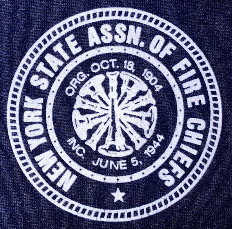 New York State Fire Chief Nassau Suffolk Long Island NY T- Shirt 3XL FDNY