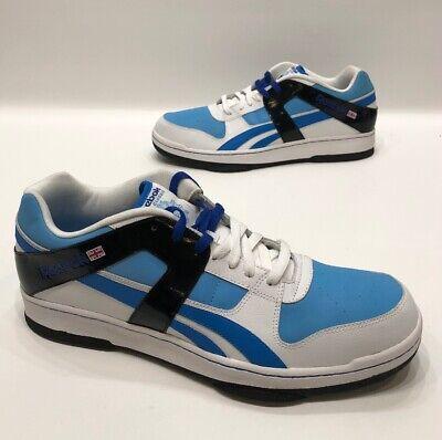 Reebok Classic Britain Mens Blue/white/black Retro Shoes Size 15 EXCELLENT!
