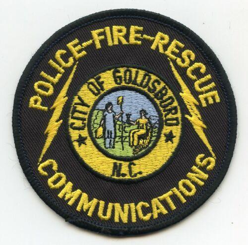 GOLDSBORO NORTH CAROLINA NC 9-1-1 COMMUNICATIONS DISPATCHER FIRE POLICE PATCH