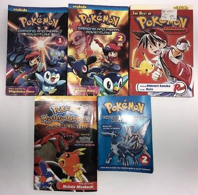 Pokemon Diamond and Pearl Adventures 1,2- Mystery Dungeon- Best Of- Pocket