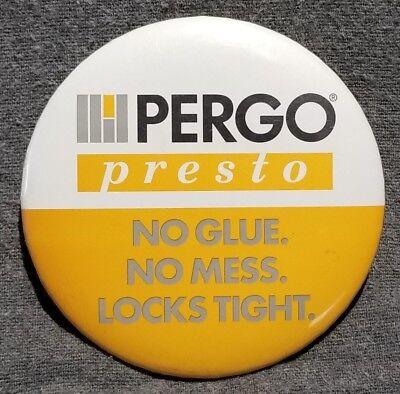 LMH Button Pin PERGO PRESTO TILES Tile Flooring Hardwood HOME DEPOT Employee 3
