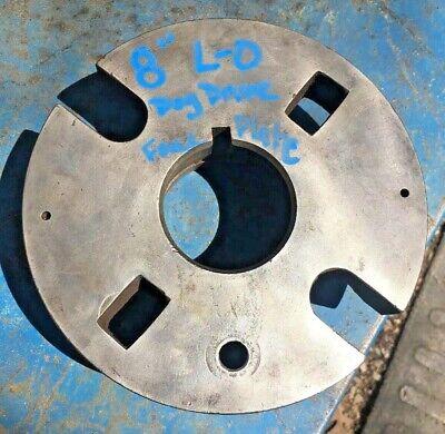8 Dog Drive Metal Lathe Face Plate W L-0 Mount Southbend Clausing Leblond Jet