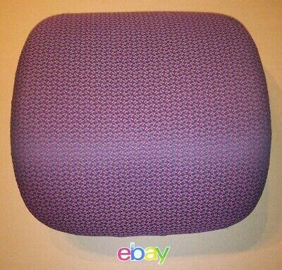 Hon Office Chair Burgundy Fabric Padded Back Backrest Cushion Great