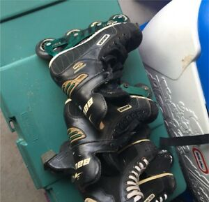 Bauer Roller blades youth sizes 1 and 3