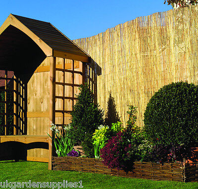 Reed Screening Screen Fence Panel Garden Privacy Wall Fencing 11.4m x 1.2m