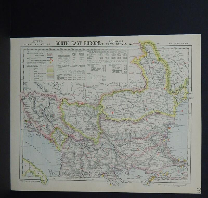 Antique Map, Lett