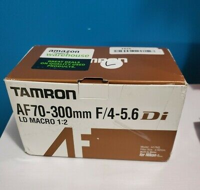 Tamron AF 70-300mm F/4-5.6 Di LD Macro 1:2 Lens with Motor A17NII