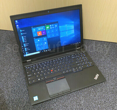 "Lenovo ThinkPad P50, i7-6820HQ, 8GB/256SSD, 15.6"" IPS FHD, Quadro M1000M -Q7"