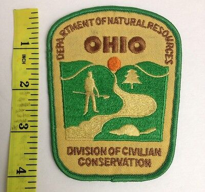 Ohio Division Of Civilian Conservation Patch Department Of Natural Resources