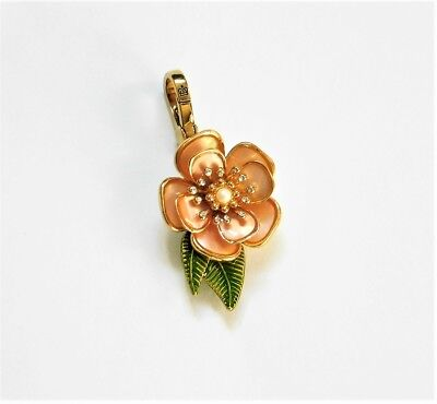 100% Authentic Juicy Couture 2009 Hawaiian Flower Charm -