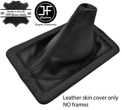 - BLACK STITCHING TOP GRAIN LEATHER MANUAL SHIFT BOOT FITS FORD MUSTANG 2005-2009