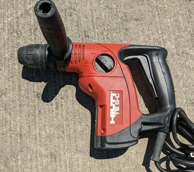 Hilti Te 6-c Corded Sds Plus Rotary Chipping Hammer Drill Tool - Great Cond.