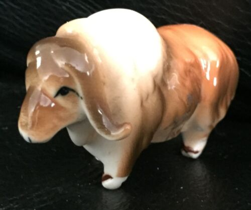 VINTAGE CERAMIC RAM / SHEEP - EXC