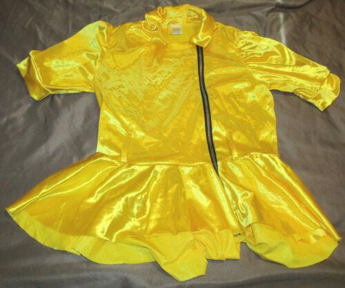 Weissman Shimmer Yellow Dance Top Child