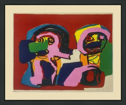 "Karel Appel ""untitled"" 1969 