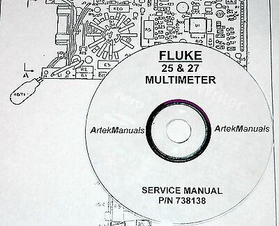 Fluke 25 27 Multimeterservice Manual W Schematics