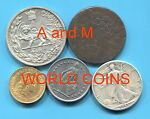 A and M World Coins