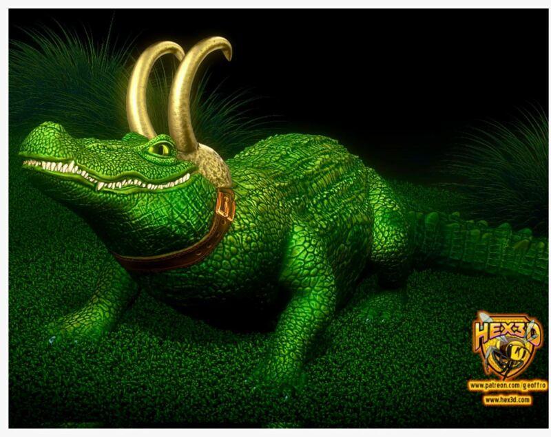 Alligator Loki - Marvel Disney MCU Show