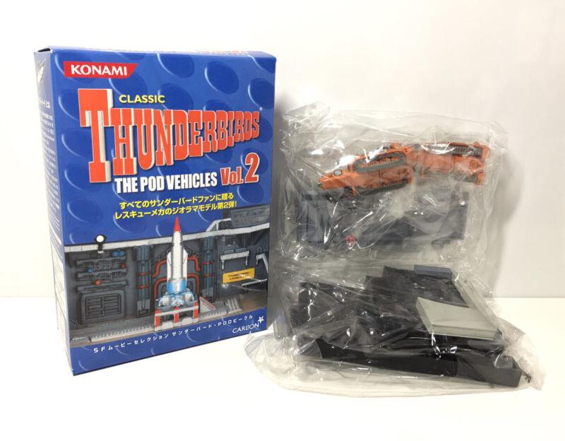 Konami SF Carlton The Pod Vehicles Classic Thunderbirds Recovery Vehicles Model