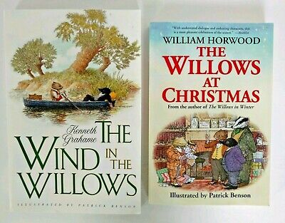 Lot of 2 books The Wind in the Willows by Kenneth Grahame +Willows at Christmas  ()